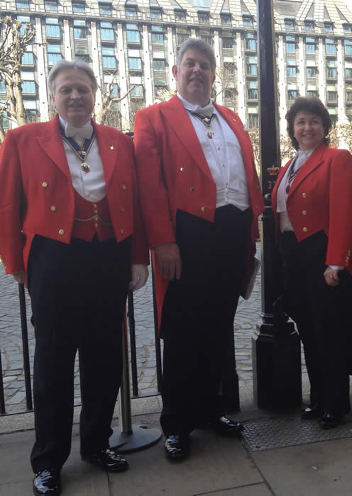 English Toastmasters at Westminster for St. George's Day