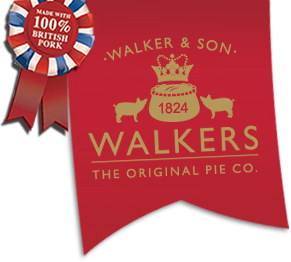 Walkers - The Original Pie Company, since 1824